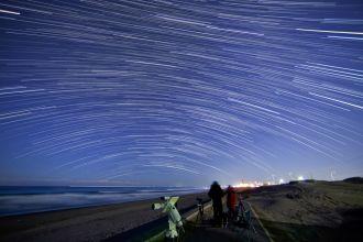 ふたご座流星群の夜